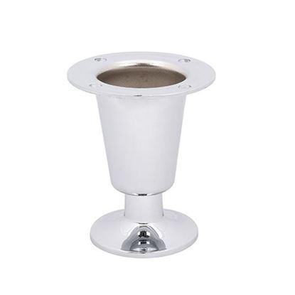 Obrázok pre výrobcu Nábytková noha NN016 80mm chróm 360376