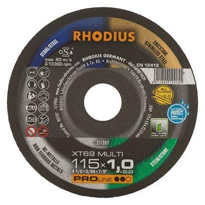 Obrázok pre výrobcu RHODIUS univerzálny rezný kotúč MULTI XT69