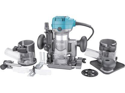 Obrázok pre výrobcu EXTOL multifunkčná frézka 710 W, 6-8 mm 8793302
