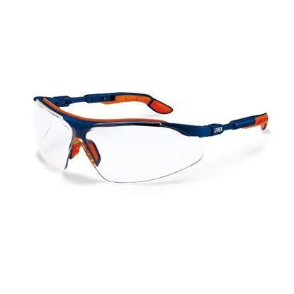Obrázok pre výrobcu Uvex I-VO Ochranné okuliare, zorník číry, modro-oranžové 103-9160065