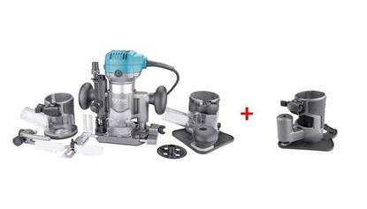 Obrázok pre výrobcu EXTOL multif. frézka 710 W, 6-8 mm 8793302 + základňa na frézovanie 8793302A