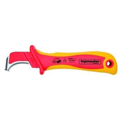 Obrázok pre výrobcu TOPMASTER nôž odizolovací 1000V VDE TMP 370109