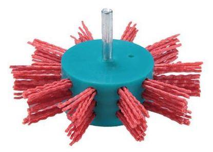 Obrázok pre výrobcu MAKITA kartáč nylónový, lopatkový 100 x 6 mm
