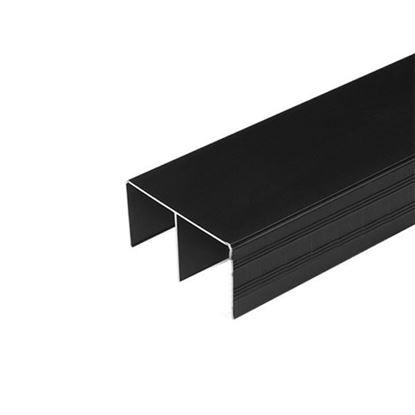 Obrázok pre výrobcu LAGUNA profil horný 8846 čierny matný