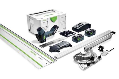 Obrázok pre výrobcu FESTOOL Aku. píla na izolačné materiály ISC 240 Li 5,2 EBI-Set-FS 575592