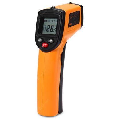 Obrázok pre výrobcu Digitálny infračervený teplomer, bezdotykový GM320