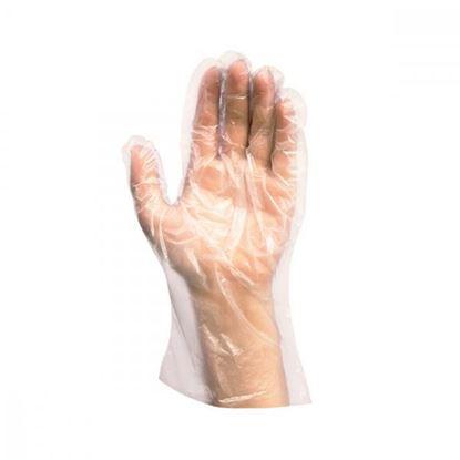 Obrázok pre výrobcu Jednorázové rukavice LDPE veľ. L, 100ks