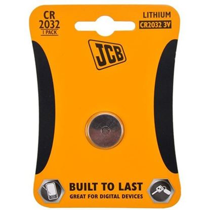 Obrázok pre výrobcu JCB gombíková lítiová batéria CR2032, 3V, blister 1 ks