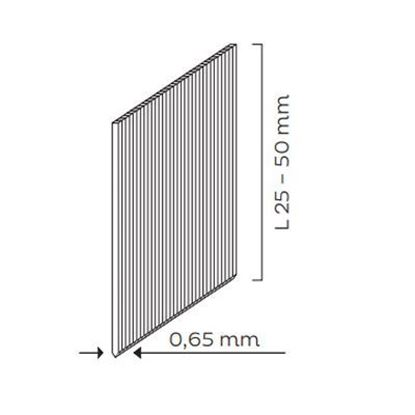 Obrázok pre výrobcu KMR klince 50mm bronz 10100228, do KMR 3485-0010, bal. 13000 ks