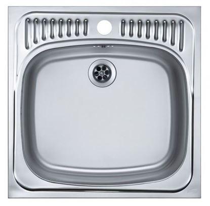 Obrázok pre výrobcu Alveus BASIC 130 nerezový 465 x 465 mm