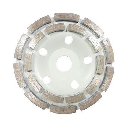 Obrázok pre výrobcu MAR-POL Brúsny diamantový kotúč 125 x 22 mm dvojradový, bez závitu, M08783