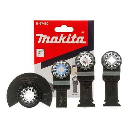 Obrázok pre výrobcu MAKITA B-67480 nadstavec BTM/TM - sada na podlahy 4ks