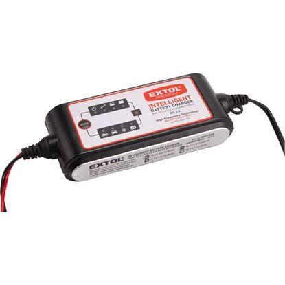 Obrázok pre výrobcu EXTOL inteligentná autonabíjačka 12V 8897300