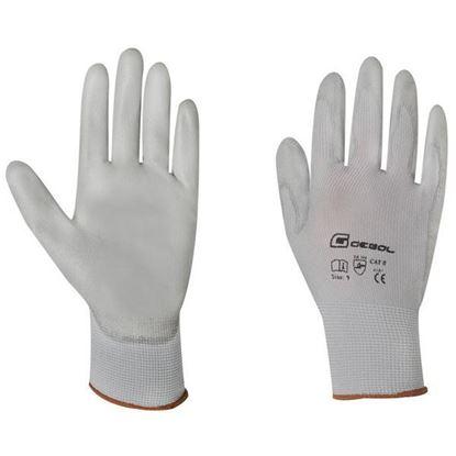 Obrázok pre výrobcu GEBOL rukavice MICRO-FLEX biele č.7 709241
