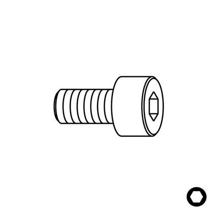 Obrázok pre výrobcu CMT Skrutka pre ložiská - 3,2W x 12,7 C99005900