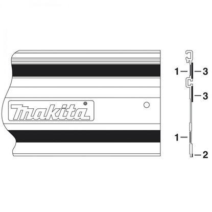 Obrázok pre výrobcu Makita vodiaca lišta - náhradné príslušenstvo