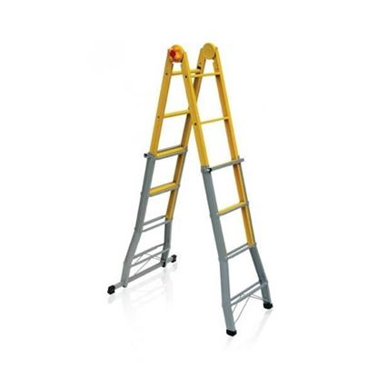 Obrázok pre výrobcu Oceľový rebrík viacúčelový B44FS