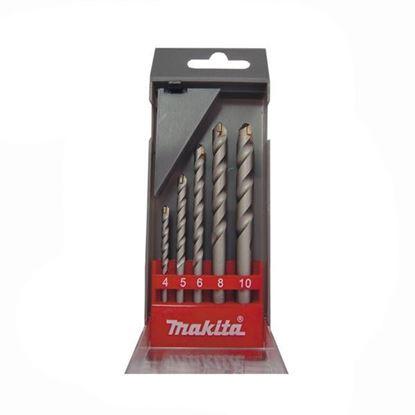 Obrázok pre výrobcu MAKITA D-05175 sada vrtákov do betónu 4,5,6,8,10 5dl.