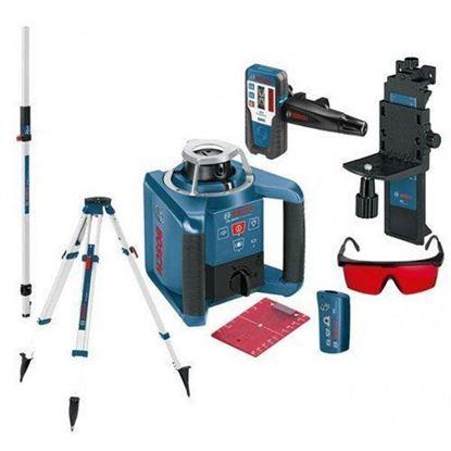 Obrázok pre výrobcu BOSCH Sada GRL 300 HV rotačný laser + BT 170 HD + GR 240 Professional
