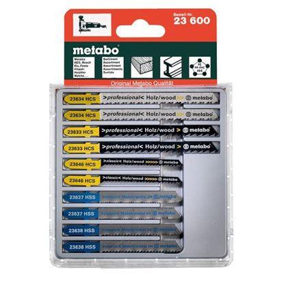 Obrázok pre výrobcu Sada pílových listov 10 dielná Metabo 623600000