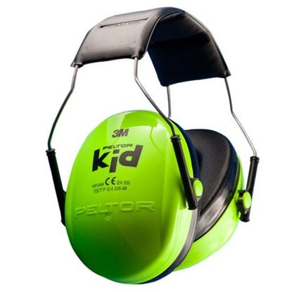Obrázok pre výrobcu Peltor KID H510AK Detské ochranné slúchadlá 3M - zelené