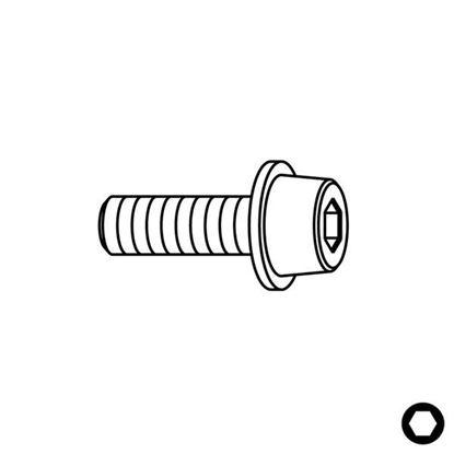 Obrázok pre výrobcu CMT Skrutka pre ložiská - 3,2W x 9,5 - 990.058.00