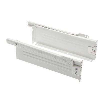 Obrázok pre výrobcu GTV Kolieskový výsuv metalbox PRESTIGE 86/500 biely set 36412-6