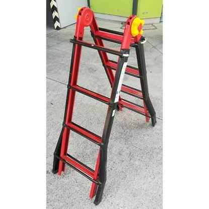 Obrázok pre výrobcu Oceľový rebrík viacúčelový B44ST DOPREDAJ