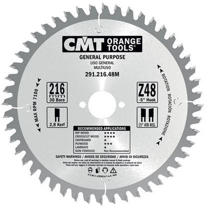 Obrázok pre výrobcu CMT Pílový kotúč pre elektronáradie univerzálny
