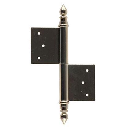 Obrázok pre výrobcu Záves dverový, lámací UR-100 mosadz