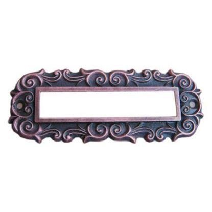 Obrázok pre výrobcu Menovka na dvere mosadz/patina