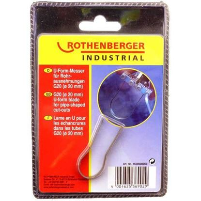 Obrázok pre výrobcu Rothenberger rezačka na polystyrén - nôž na rúry