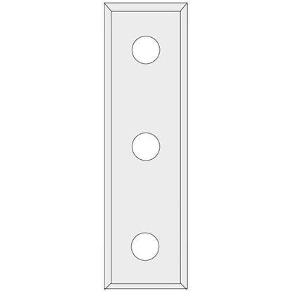 Obrázok pre výrobcu IGM N012 Žiletka tvrdokovová Z4 - 50x9x1,5 UNI N012-50045