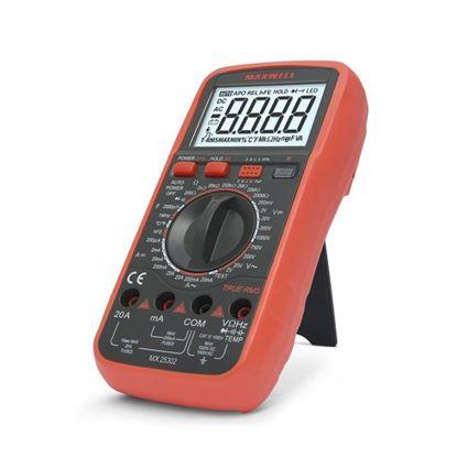Obrázok pre výrobcu Multimeter digitálny 25302