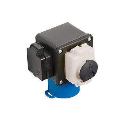 Obrázok pre výrobcu IGM Bezpečnostný elektrický stop vypínač 230V pre frézovacie stolíky FRT2-997