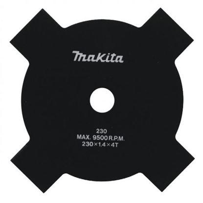 Obrázok pre výrobcu Makita B-14118 Žací nôž kovový 4-zub 230 x 1,8 x 25,4 mm