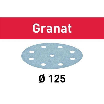 Obrázok pre výrobcu FESTOOL brúsny výsek 125/8 mm GRANAT 1ks