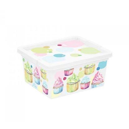 Obrázok pre výrobcu Plastový úložný box Style PORTOBELLO DOPREDAJ