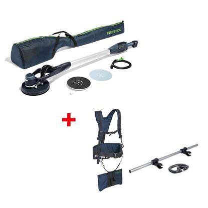Obrázok pre výrobcu FESTOOL PLANEX LHS-E 225 EQ Brúska s dlhým krkom 571934 + nosné popruhy TG-LHS225 496911