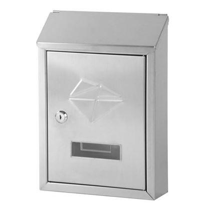 Obrázok pre výrobcu Poštová schránka GL-06S nerez 305 x 215 x 70 mm 252269