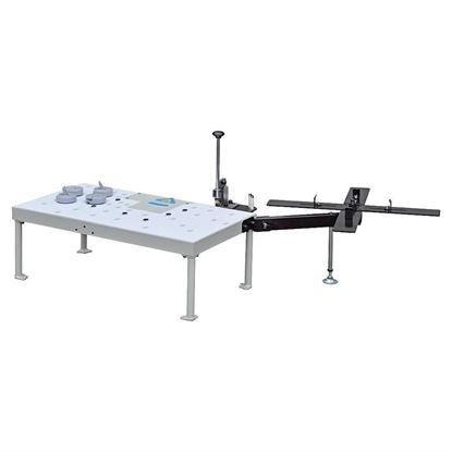 Obrázok pre výrobcu IGM Olepovací a orezávací stôl so zásobníkom 142-ST95B