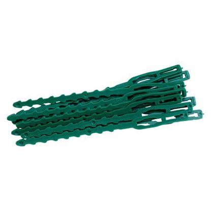 Obrázok pre výrobcu Pásky viazacie, 22cm, plastové, 30 ks 0005179