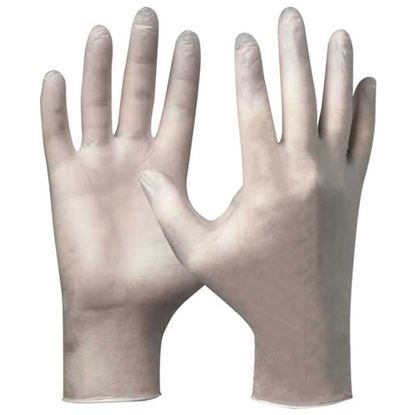 Obrázok pre výrobcu Jednorazové vinylové rukavice WHITE VINYL 100ks
