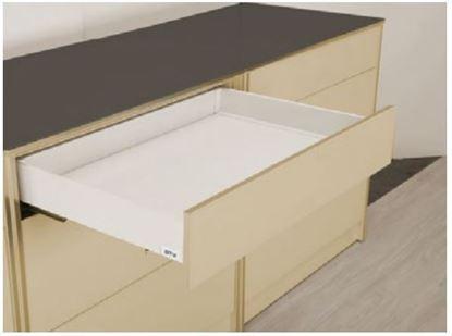 Obrázok pre výrobcu Zásuvkový komplet LINOS BOX 550 mm nízka biela 37420-7 DOPREDAJ