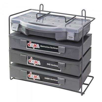 Obrázok pre výrobcu DEMA Tesniace O-krúžky sada 900 ks 40584D
