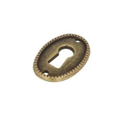 Obrázok pre výrobcu Ozdobný štítok ANTIK 7891 bronz 2552-5