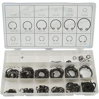 Obrázok pre výrobcu GEKO Sada segerových poistiek vnútorných, 300 - dielna G02803