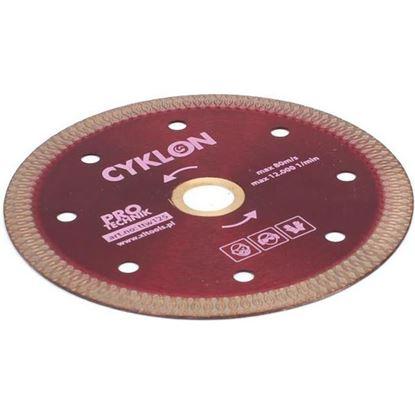 Obrázok pre výrobcu CYKLON Diamantový kotúč, extra tenký, na stavebný a kamenný materiál