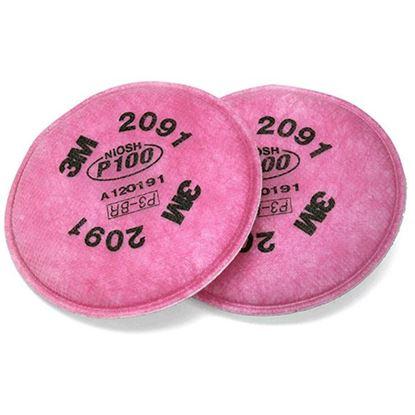 Obrázok pre výrobcu 3M filter prachový 2091 sada 2ks DOPREDAJ