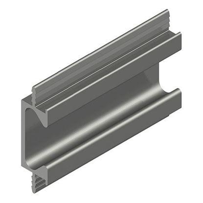 Obrázok pre výrobcu Madlo zafrézovateľné UKV-6 INOX 3,5m ZOBAL